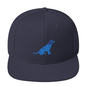 Classic Snapback: Rottweiler Silhouette