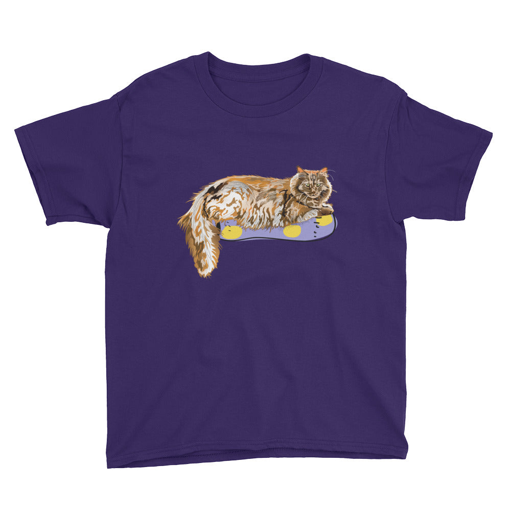 Youth Lightweight T-Shirt: Maine Coon