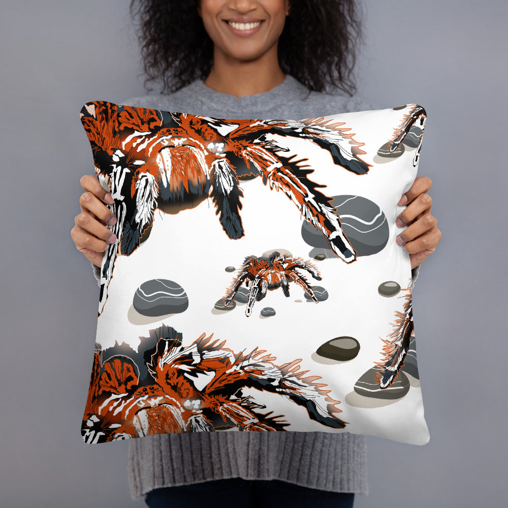 All-Over Print Basic Pillow: Tarantula