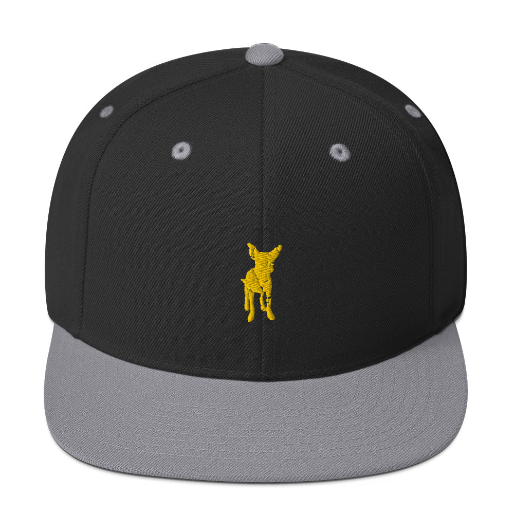 Classic Snapback: Chihuahua Silhouette
