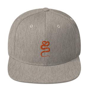 Classic Snapback: Snake Silhouette