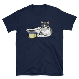 Unisex Basic Softstyle T-Shirt: Barn Cat