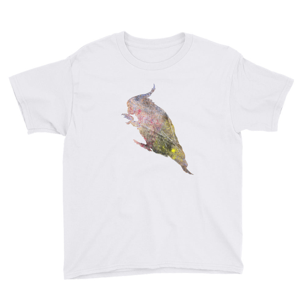 Youth Lightweight T-Shirt: Cockatoo Silhouette