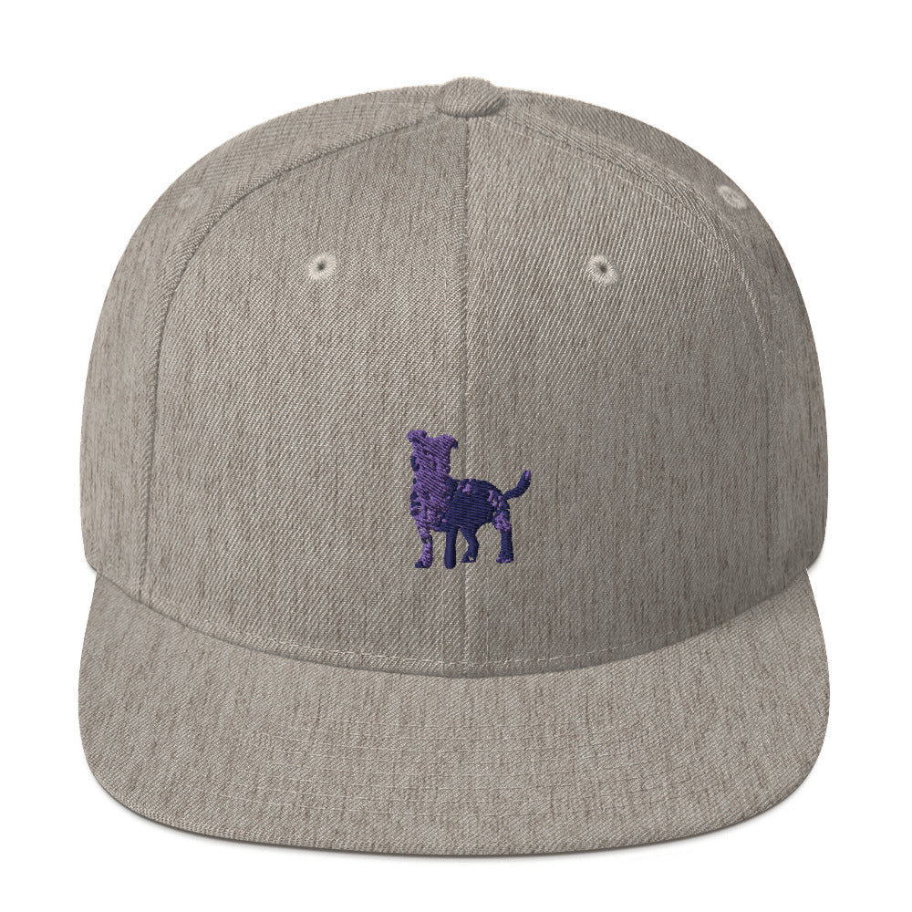 Classic Snapback: Jack Russell Terrier Silhouette