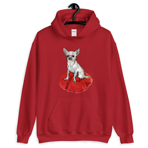 Unisex Heavy Blend Hoodie: Chihuahua
