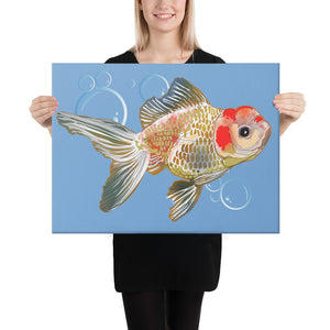 Canvas (in): Gold Fish