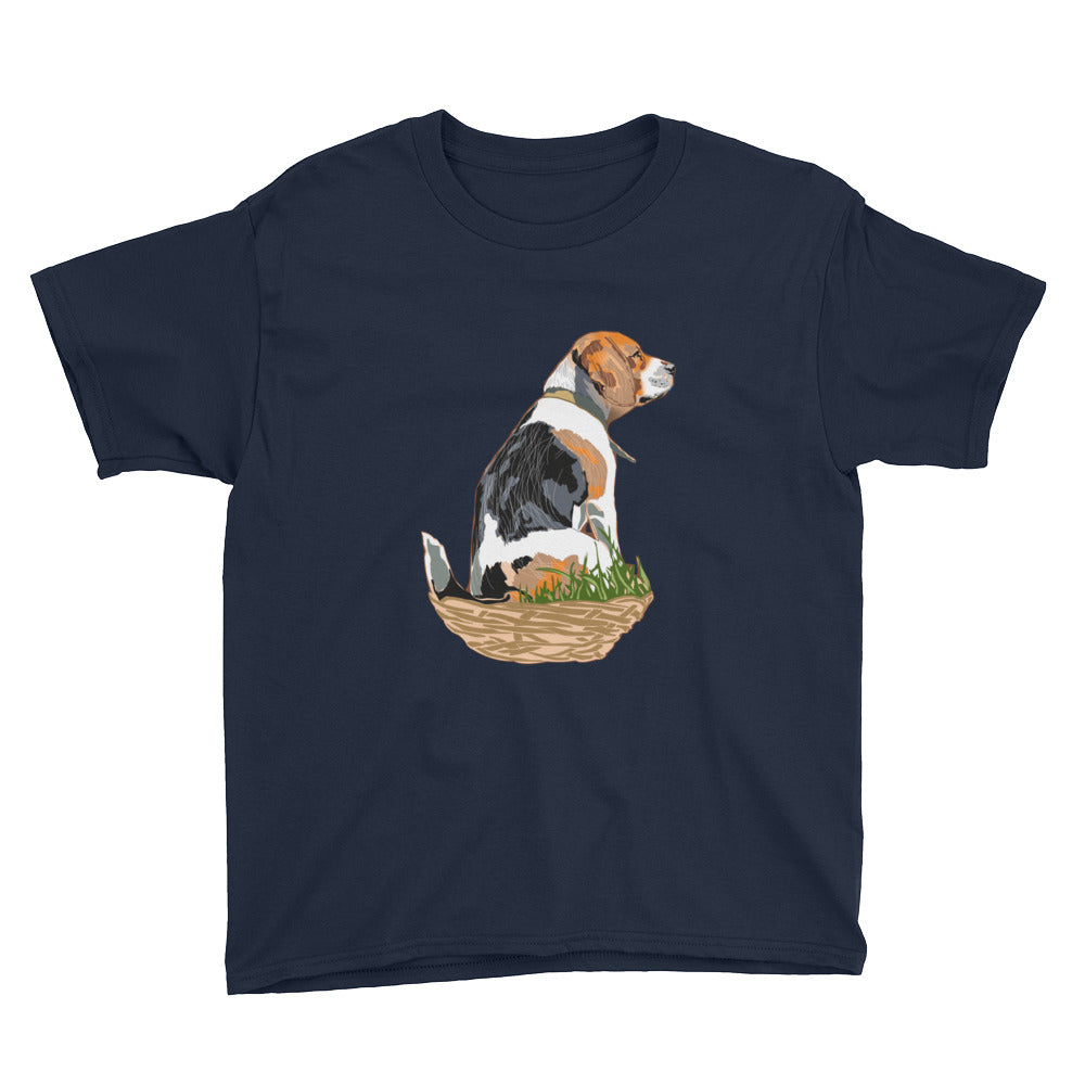 Youth Lightweight T-Shirt: Beagle