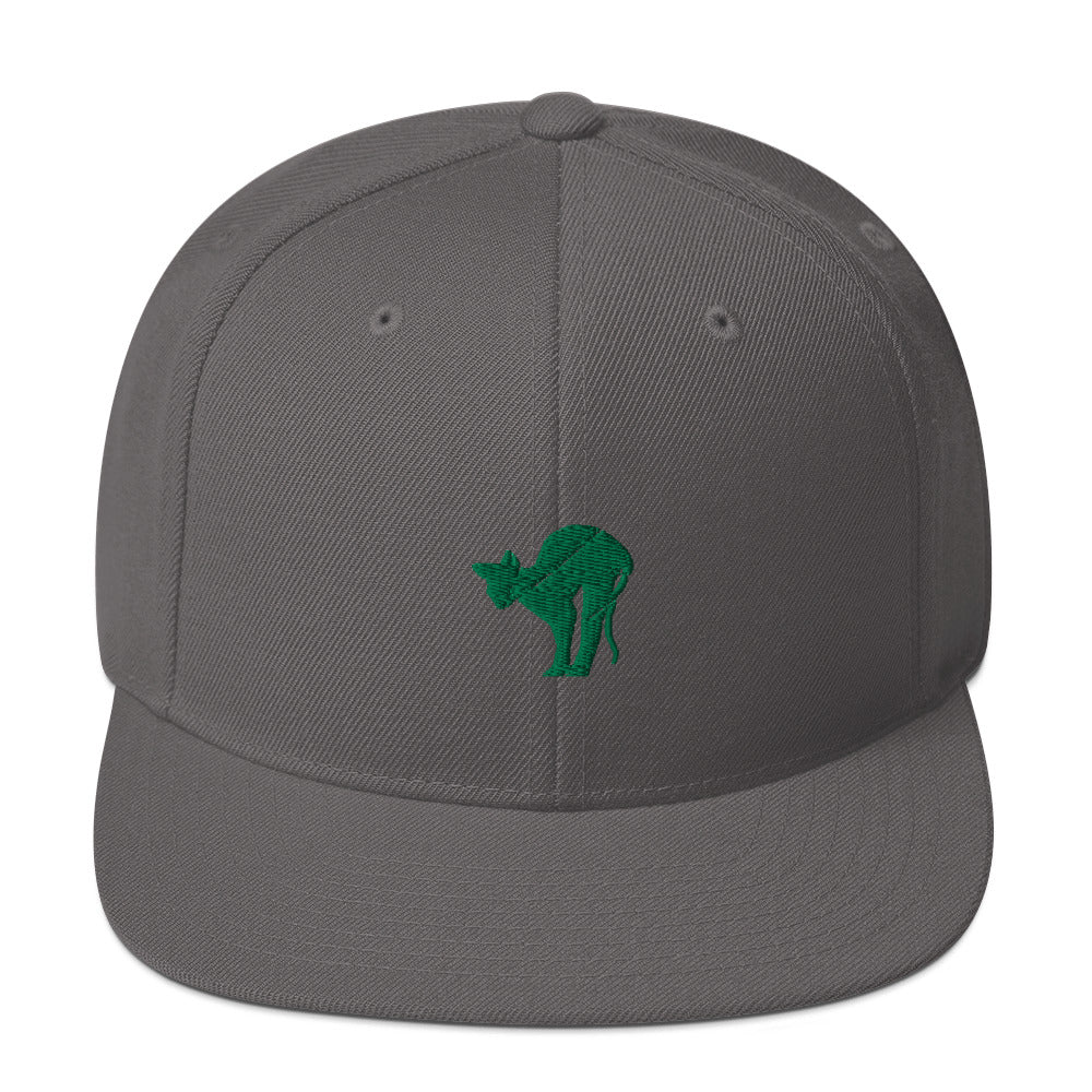 Classic Snapback: Sphynx Cat Silhouette