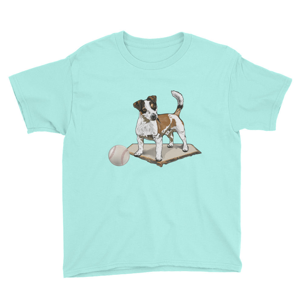 Youth Lightweight T-Shirt: Jack Russell Terrier