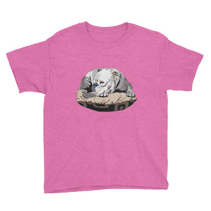 Youth Lightweight T-Shirt: Bulldog