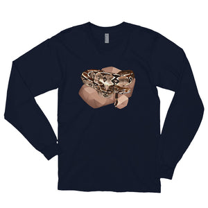 Unisex Long Sleeve Shirt: Boa Constrictor