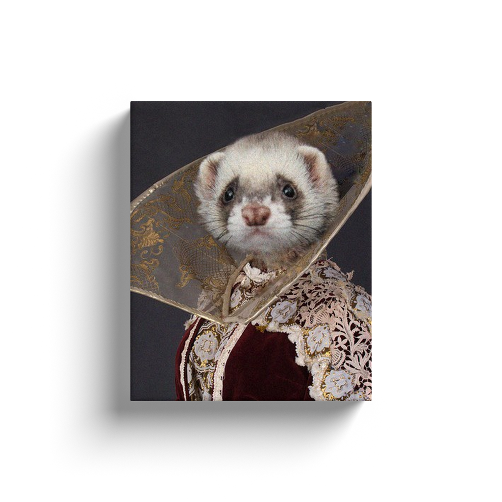 Canvas Wraps: Ferret Queen 1
