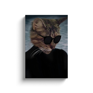 Canvas Wraps: Cat Fashion Model 1