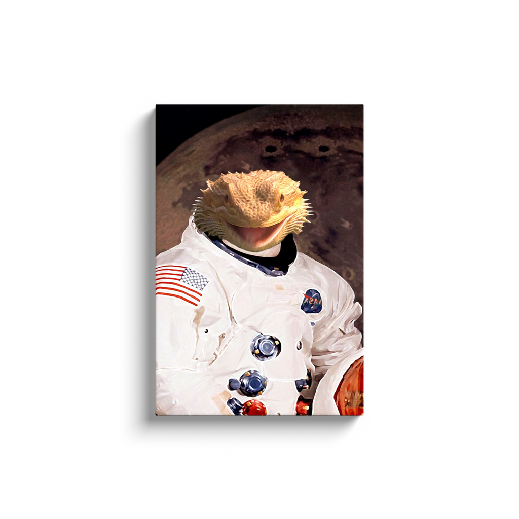 Custom Astronaut Portrait for Peyton