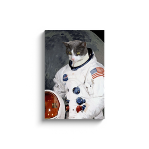 Custom Astronaut Portrait for Claudia L