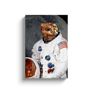 Custom Astronaut Portrait for Theodore