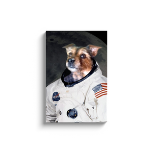 Custom Astronaut Portrait for Wes
