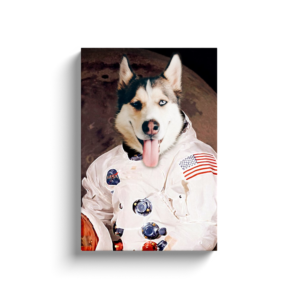 Custom Astronaut Portrait for Anna 1