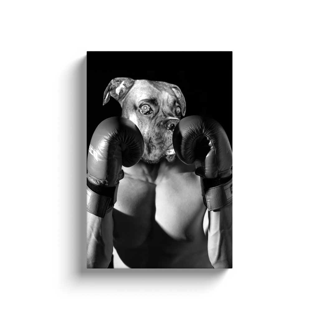 Custom Boxer Portrait for Melissa 1
