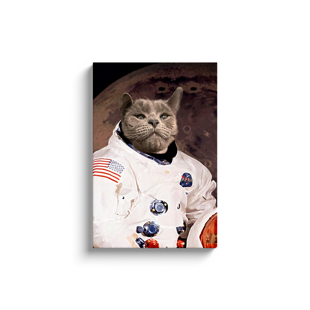 Custom Astronaut Portrait for Nathalie