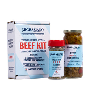 The Official Barstool Chicago Beef Kit *Pre-Order Item*