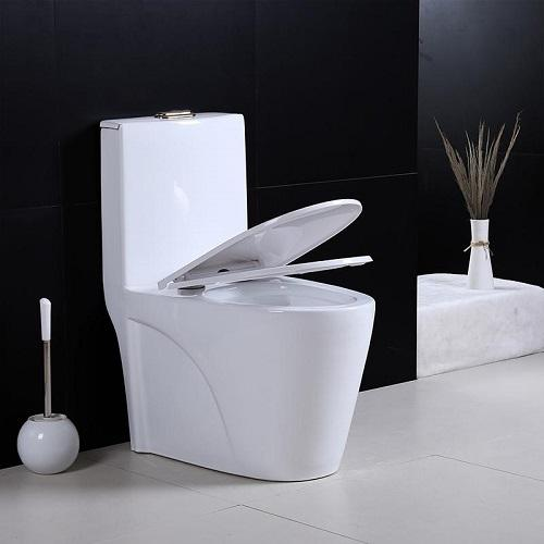 One Piece Water Closet Commode