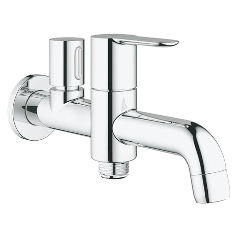 Grohe BauEdge Two Way Bib Cock Tap 20284000 - Bath Outlet