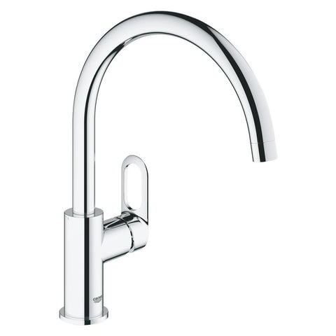Grohe Bauloop C- Spout Kitchen Sink Tap Crome Finish 31232001 - Bath Outlet