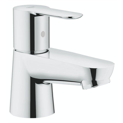 Grohe BauEdge Cold Water Basin Pillar Tap Short Body 20421000 - Bath Outlet