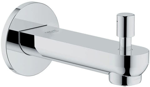 Grohe Bauloop Bath Spout With Button Spout Crome Finish - Bath Outlet