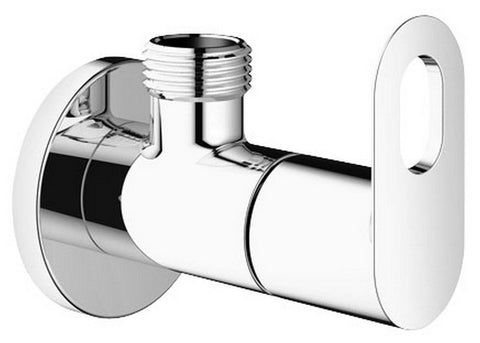 "Grohe Bauloop Angle Cock Valve Crome Finish 22008000 1/2"" Inlet & Outlet - Bath Outlet"
