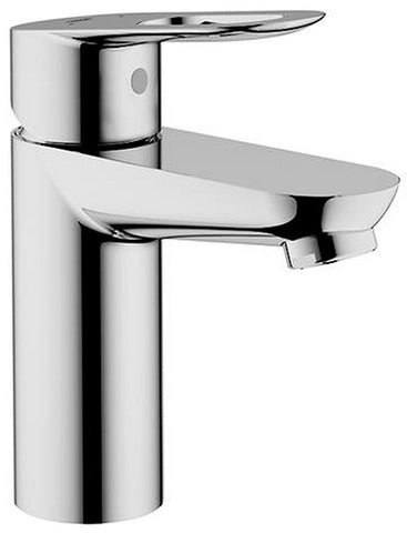 Grohe Bauloop OHM Basin Smooth Body Without Lift Rod Cold Water Basin Pillar Tap 32854000 - Bath Outlet