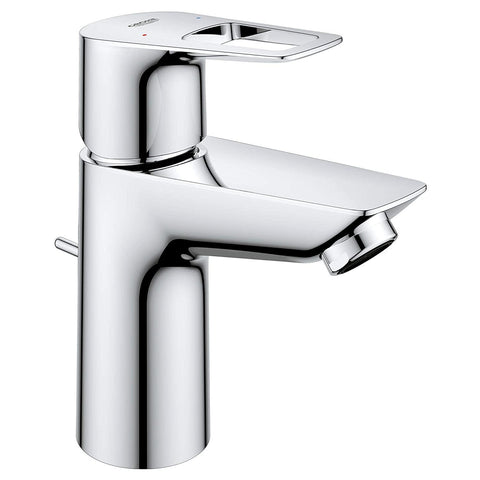 Grohe Bauloop OHM Hot & Cold Water Single Handle Basin With Pop-up Waste Set 32814000 - Bath Outlet