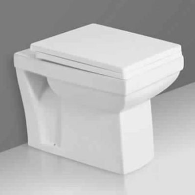 Ceramic Floor Mounted P Trap Commode Water Closet - inartstore.in