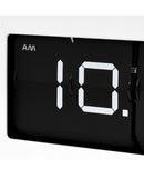 King Table Top Flip Clock - White