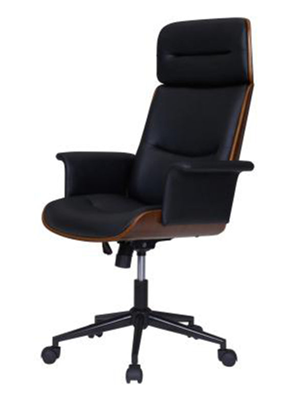 Wedgie KD PU Office Chair
