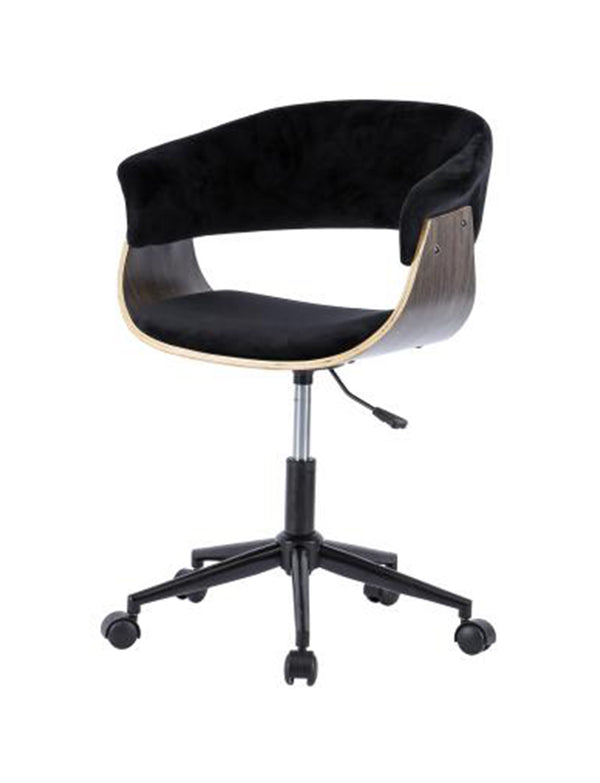 Megan KD Velvet Fabric Office Chair