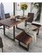 Urban Live Edge Dining Bench