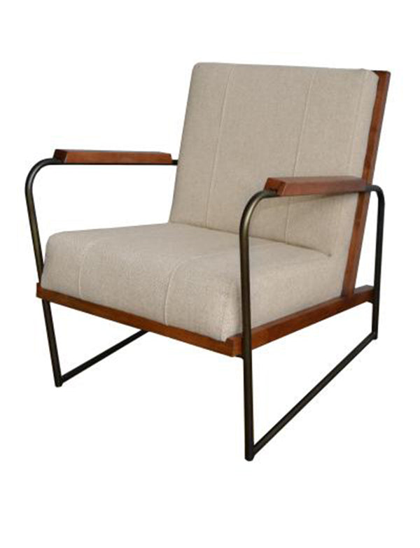 Dolce Fabric Arm Chair