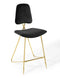 Prism Performance Velvet Bar Stool