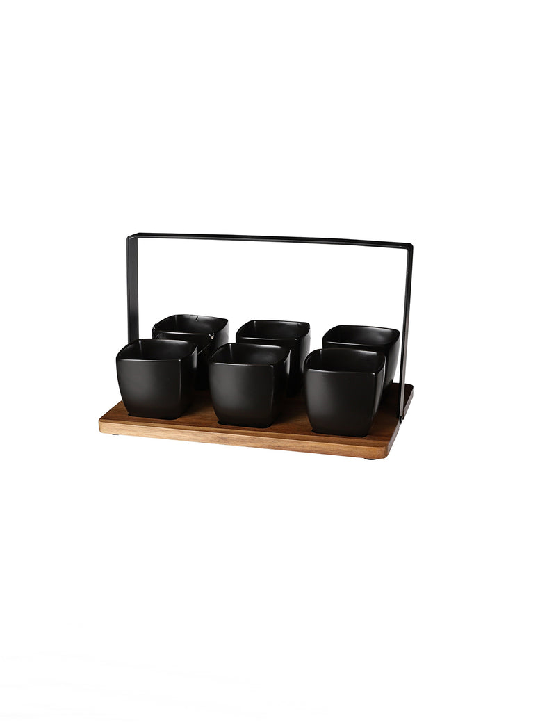 LASIO CERAMIC TAPAS SET