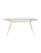 Atia Gold Dining Table