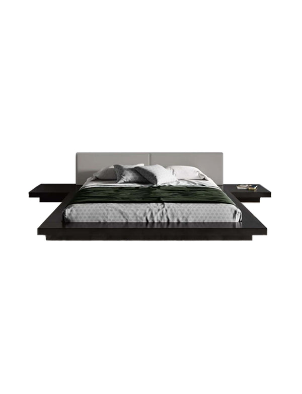 Fuji Bed, Black & Grey