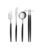 Goa Flatware Black/Silver