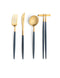 Goa Flatware Blue/Gold