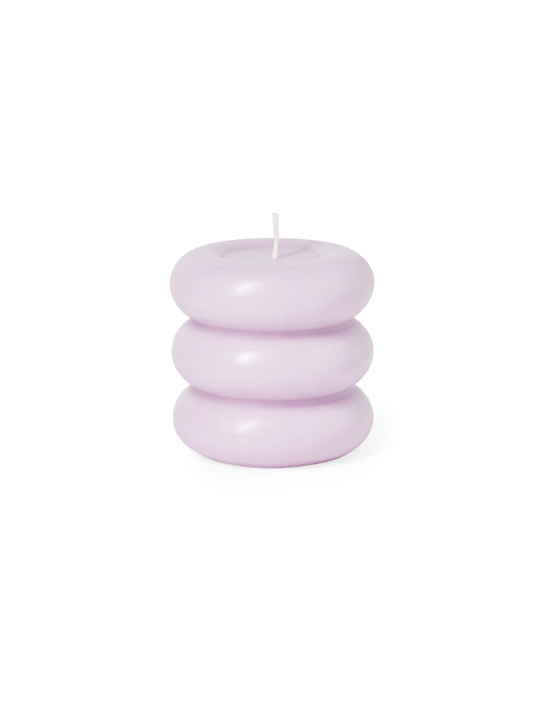 Octaevo Templo Candle Sculpture Pale Lilac