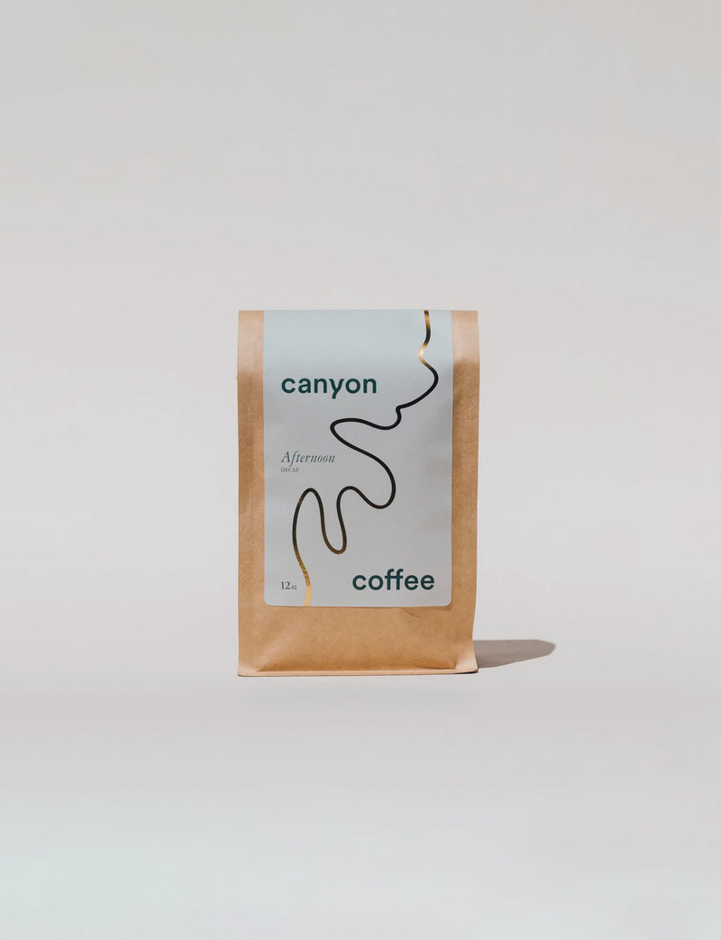 Canyon Coffee Bean, Afternoon Decaf / 12oz