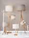 Eden Floor Lamp, Natural