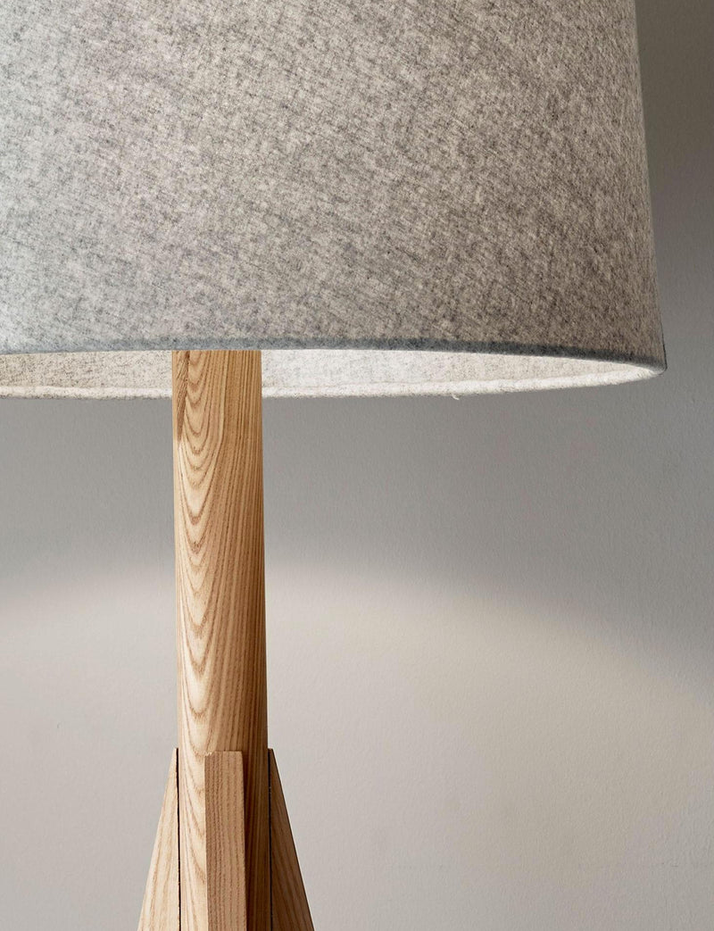 ADAM FLOOR LAMP - NATURAL