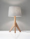 Eden Table Lamp, Natural